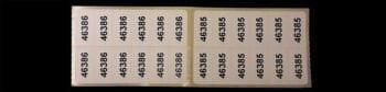 Stickers met nummers (per bundel, max. 3 bundels per bestelling)