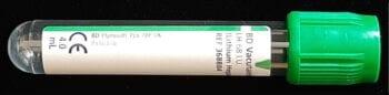 Afnamebuis donkergroen (per stuk, max. 20 st. per bestelling)